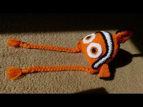 Nemo Inspired Hat Finding Nemo Hat Clown Fish Hat Orange Fish Hat Halloween Baby Infant Child/'s Toddler Teen Adult Knitted Winter Hat