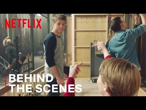 How Jackson Robert Scott Says Goodbye On The Set Of Locke & Key | Netflix