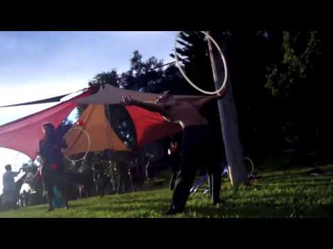 Nick Hooping at Rise Big Sur 2012