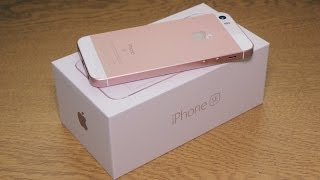 Apple iPhone SE (Rose Gold) - Unboxing [HD]