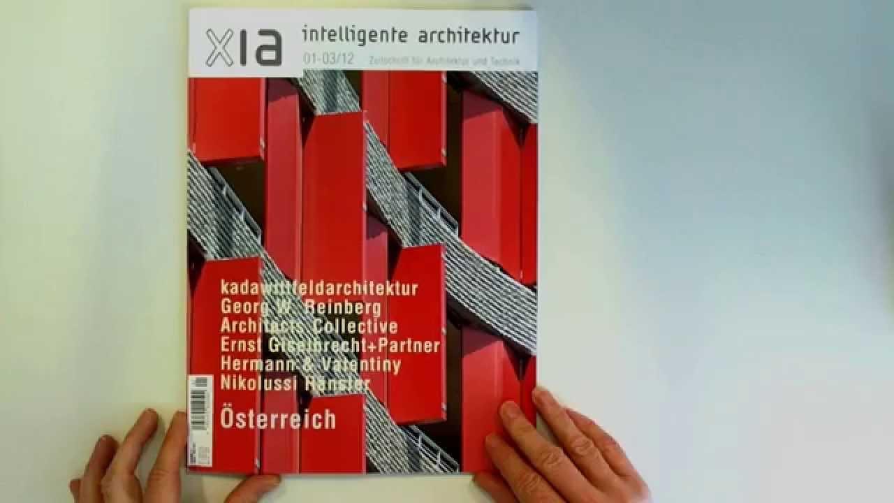Xia intelligente architektur 78 2012 zeitschrift f r for Architektur und design zeitschrift