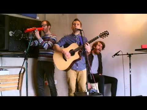 The Hoosiers - Goodbye Mr A live acoustic in Bristol