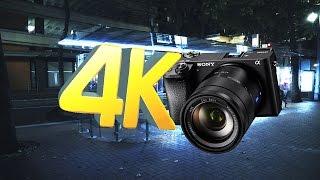 Portland Walk   4K Sony A6300  - Zeiss 16-70mm   Low light test