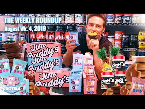 this-week-in-the-mix---week-3,-aug-2019-|-jim-buddy's-protein-donuts,-ghost-pineapple-pump,-lo-dough