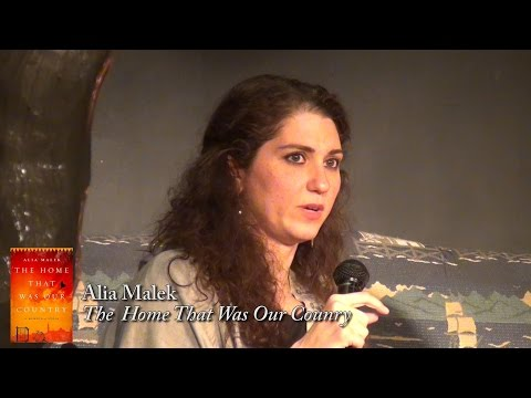 "Alia Malek. ""The Home That Was Our Country"""