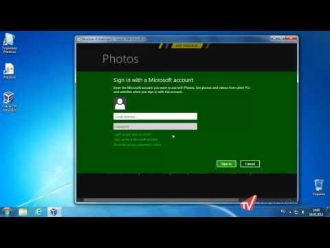 Фотоальбомы в Windows 8 - Приложение Photos