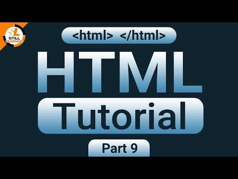 HTML Tutorial Part 9 (how To Use Of Sup, Sub And Anchor Tag In Html)