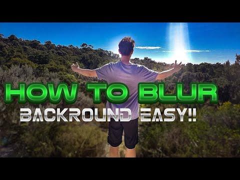 HOW TO BLUR BACKROUND PHOTO SHOP!! LENS BLUR EFFECT PHOTOSHOP TUTORIAL!! CAM RON UN VLOG #9 thumbnail