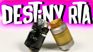 Destiny RTA Review, Build & Wicking Tutorial | HellVape x Alex Vapers MD | Vaping Bogan