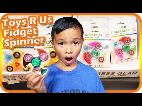 Thumbnail: FIDGET SPINNER Toy Hunt at Toys R Us, New Hatchimals Colleggtibles – TigerBox HD