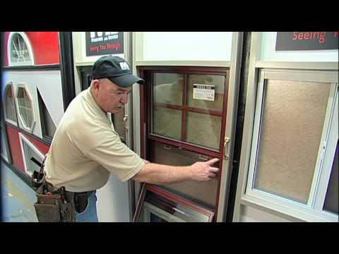 MI Windows and Doors How to Video Regal View Single Hung Screen Replacement - YouTube & MI Windows and Doors How to Video: Regal View Single Hung Screen ...