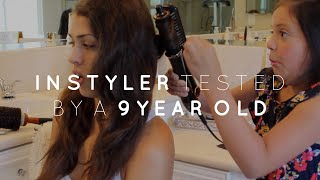 9 Year Old Does My Hair // Instyler Max Review