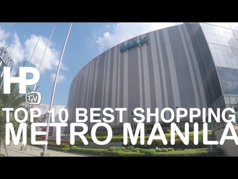 Top 10 Best Shopping Malls Metro Manila Philippines Walking Tour Overview by HourPhilippines.com