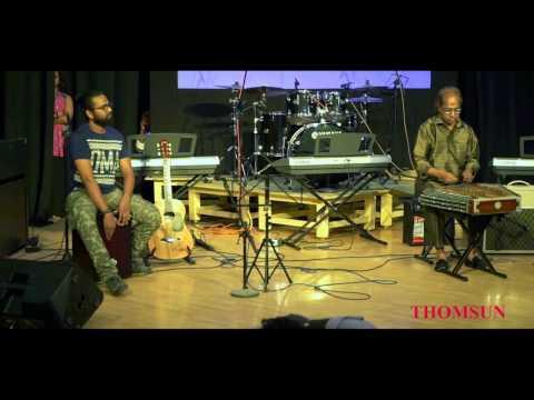 Thomsun Music Bangalore - Impromptu Jam by Mr. Santoor Kumar, Mr. Rijil P Dharman, and Mr. Akhil.