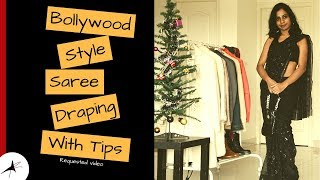 How To Wear A Saree In Bollywood Style | Tips To Get It Right | Arpitharai