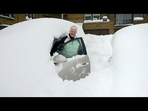 Buried by Lake Effect snow? In CNY, we just start digging