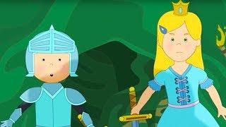 Caillou Türkçe HD - Şövalye Caillou ve Prenses | kayu cizgi filmi