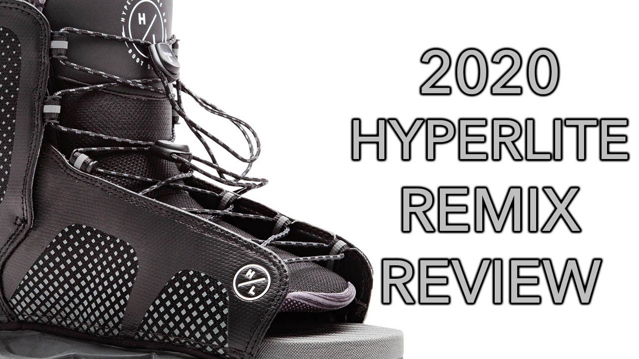 2020 Hyperlite Remix Wakeboard Binding Review - Wakeboard Boot