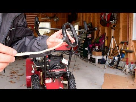 Sears Craftsman Snow Blower Pull Cord Repair Highlights
