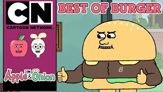 Apple & Onion | Best of Burger | Cartoon Network UK