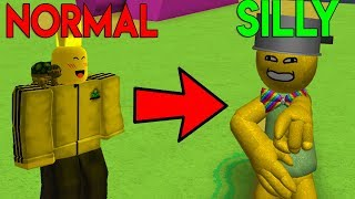 ROBLOX SILLY SIMULATOR *TRANSFORM INTO SILLY!*