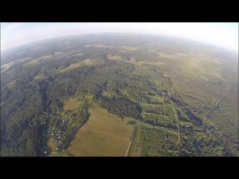 Щелыково Макс высота 1090 метров. Разрешение 2.7K