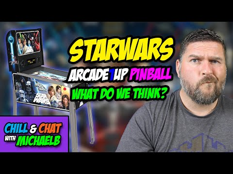 Chill and Chat Arcade1Up Star Wars Pinball | MichaelBtheGameGenie from MichaelBtheGameGenie
