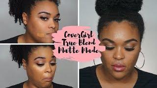 CoverGirl True Blend Matte Made Foundation Demo