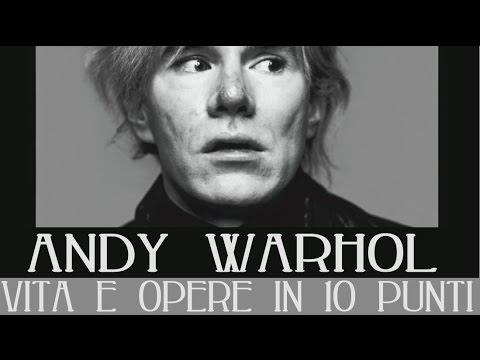 Andy Warhol: vita e opere in 10 punti
