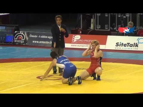 World W - Soronzonbold (MGL) pin Pirozhkova (USA), 63 kg