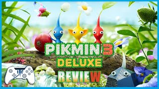 Pikmin 3 Deluxe Review - Look at them all! (Video Game Video Review)