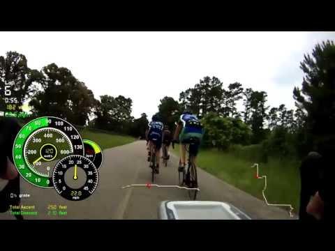 Woodlands Bike Lane Training Ride 3 of 4  6/15/2013