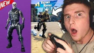 Infinite Lists Rages At The New Skull Trooper In Fortnite