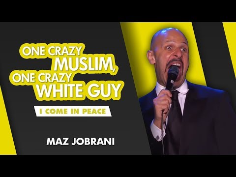 'One Crazy Muslim, One Crazy White Guy' | Maz Jobrani - I Come in Peace