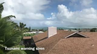 Hawaii Tsunami Warning vs Nuclear Attack warning sirens