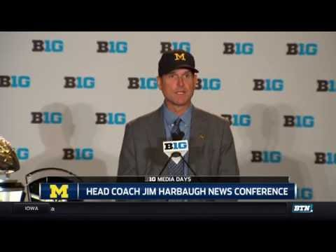 Jim Harbaugh - 2016 Big Ten Football Media Days