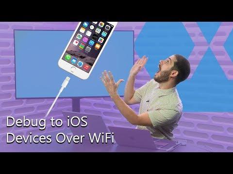 Debug To IOS Devices Over Wi-Fi   The Xamarin Show