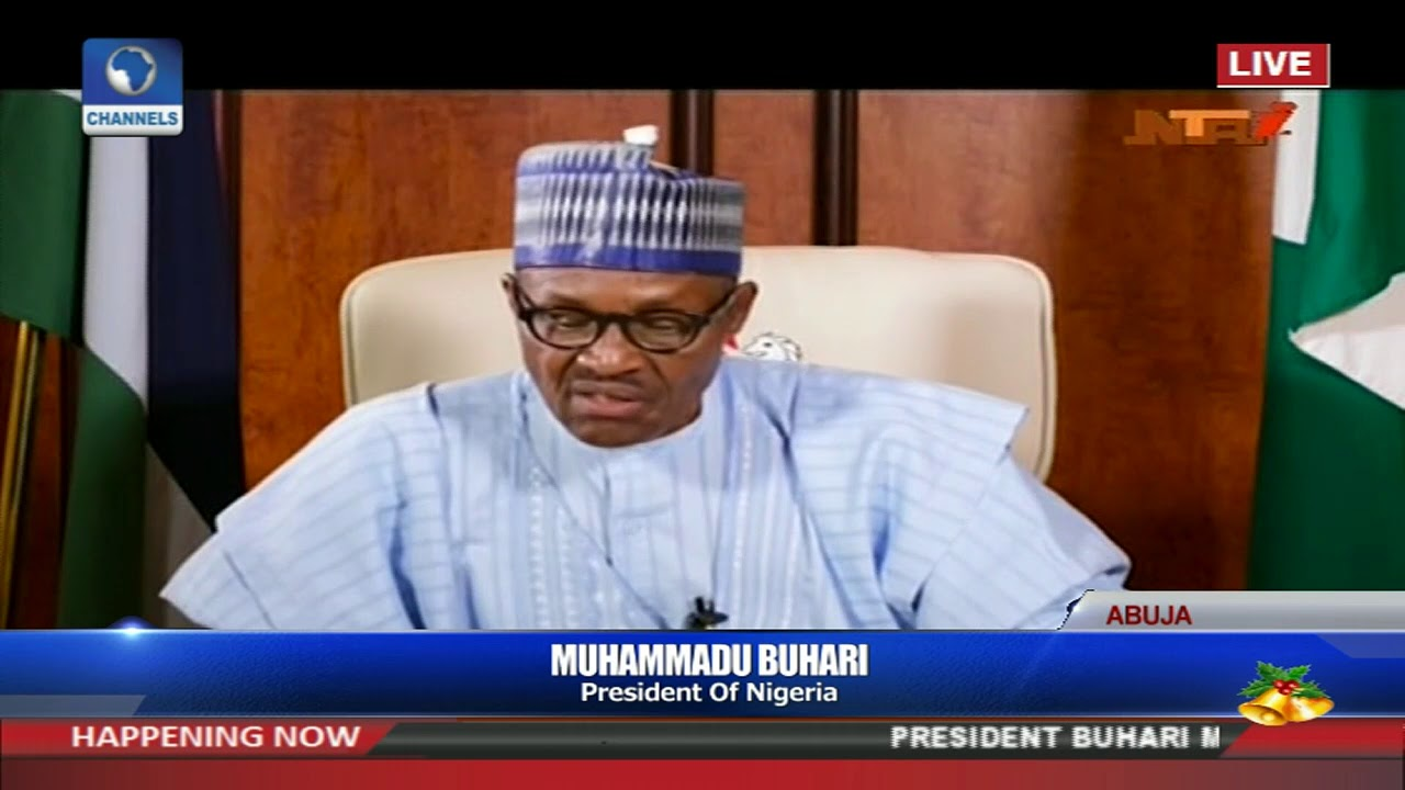 Full Video: President Buhari's New Year Address Pt.1