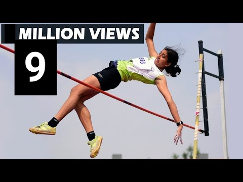 Womens Pole Vault Final All India University Athletics 2017