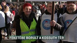 Ismét a közoktatás helyzete miatt tüntettek 19-11-30