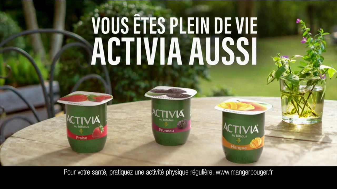 """Musique de la pub Activia Fruits """"vous êtes plein de vie Activia aussi""""  2021"""