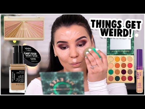 TRYING OUT MORE NEW AFFORDABLE MAKEUP PRODUCTS 2019! | MakeupByAmarie