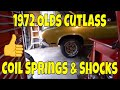 1972 Oldsmobile Cutlass coil spring and shock replacement