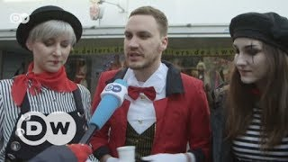 Jüdischer Wagen bereichert Düsseldorfer Rosenmontagszug | DW Deutsch