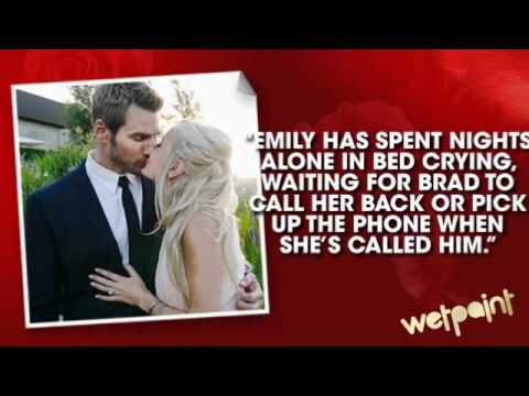 The Bachelor:  Brad And Emily's Rollercoaster Relationship Rumor Ride