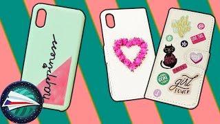 Obaly na mobil DIY nápady 📱 Dekorace pro Vaše telefony - jak si je sami levně ozdobíte  📱