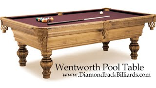 Wentworth Pool Table Call 480-792-1115 & Customize Your Own Table