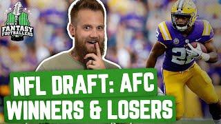 Fantasy Football 2020 - NFL Draft Breakdown: AFC Winners & Losers - Ep. #880