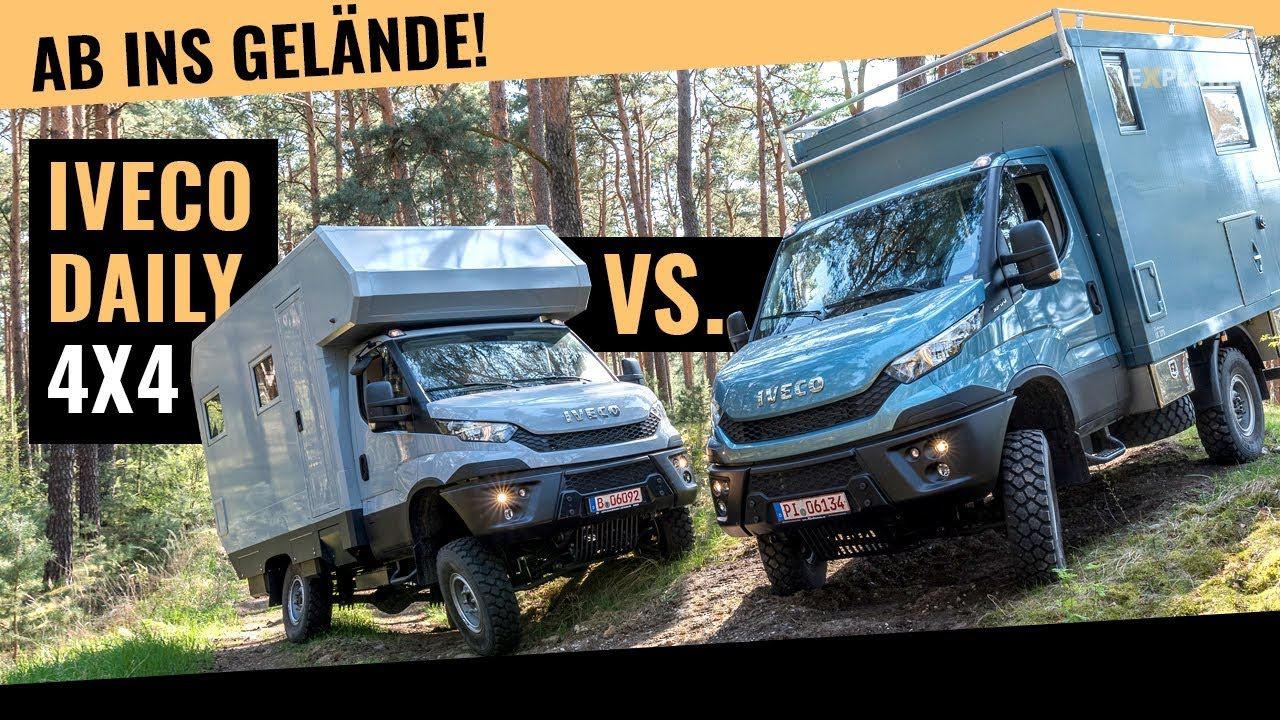 offroad wohnmobil vergleich welcher iveco daily 4x4. Black Bedroom Furniture Sets. Home Design Ideas