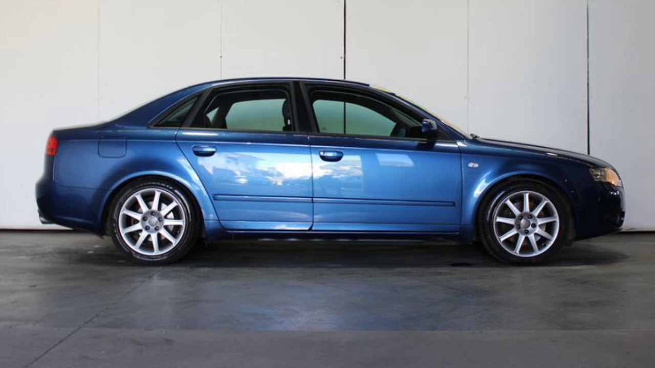 2005 audi a4 b7 2 0 tfsi quattro blue 6 speed tiptronic. Black Bedroom Furniture Sets. Home Design Ideas